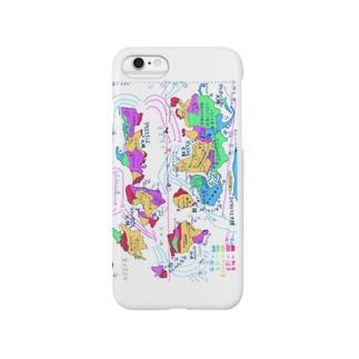 架空地図 Smartphone cases