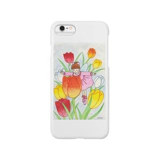 「花の妖精」 Smartphone cases