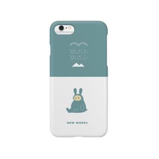 moi moiうさぎ Smartphone cases