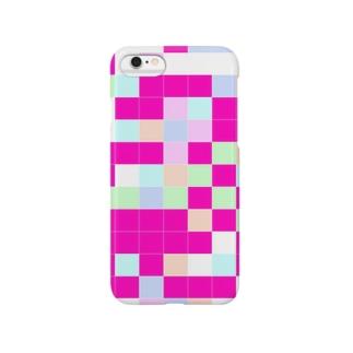 ピンクピンクiPhoneケース Smartphone cases