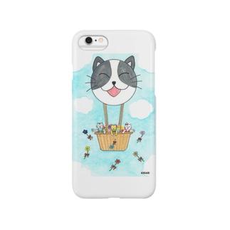 「花いっぱい!夢いっぱい!」 Smartphone cases