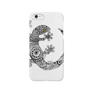 トカゲシリーズ Smartphone cases