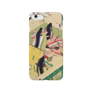 平安絵巻風 Smartphone cases