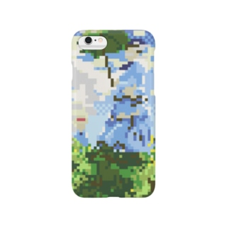 モネ-日傘をさす女(ドット) Smartphone cases
