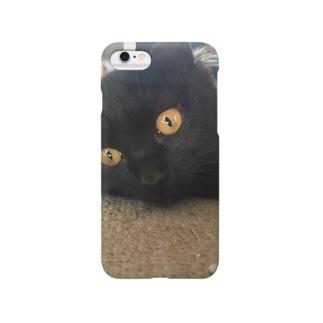 黒猫 Smartphone cases