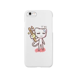 どやネコ!どやちゃん(アイス)02 Smartphone cases