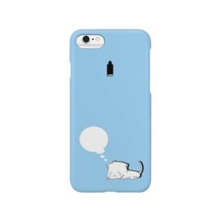 だるねこケース(iPhone6用) Smartphone cases