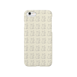 non.FuLFiLLのフレンチブルちゃん Smartphone cases