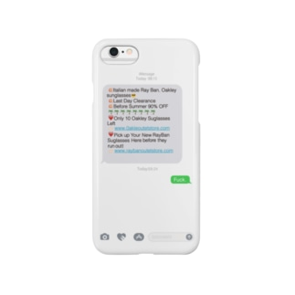 Spam Message iPhone case for 6,6s,7 Smartphone cases