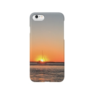 オーストラリア Sunset on the Gold Coast 🇦🇺 Smartphone cases