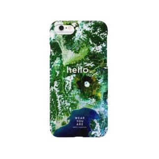 WEAR YOU AREの山梨県 南都留郡 Smartphone cases