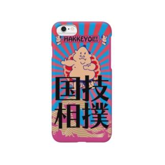 Oh!SUMO!土俵入りケース Smartphone cases