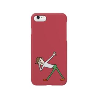 トオルさん(渋赤) Smartphone cases