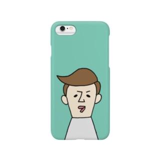 トオルさん(うすミドリ) Smartphone cases