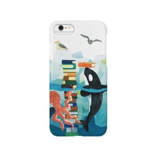 シャチとタコ Smartphone cases