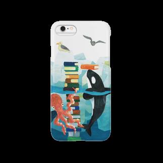 gomaphのシャチとタコ Smartphone cases