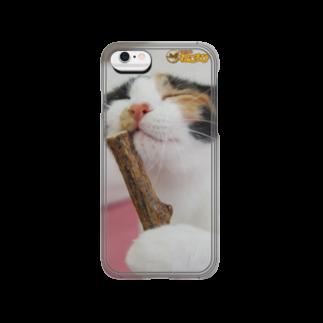 Cat Cafe ねころびの弥生iPhoneケース Smartphone cases