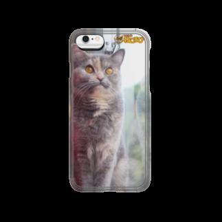 Cat Cafe ねころびのペコiPhoneケース Smartphone cases