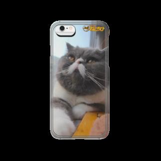 Cat Cafe ねころびのふくもりiPhoneケース Smartphone cases