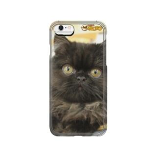 くろすけiPhoneケース Smartphone cases