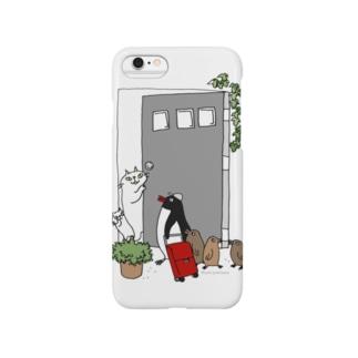 こんにちはペンギンさん Smartphone Case