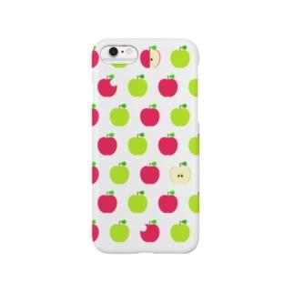 赤青林檎三昧B Smartphone cases