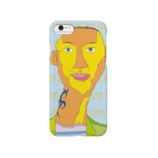 トライバル・タトゥー・オッサン Smartphone cases