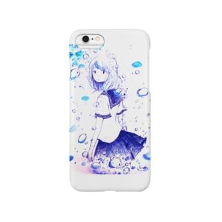 泡の少女 Smartphone cases
