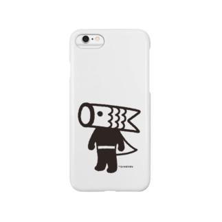 こいのぼりマン Smartphone cases