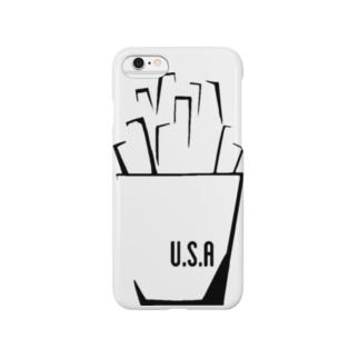 アメリカンなフレンチ Smartphone cases