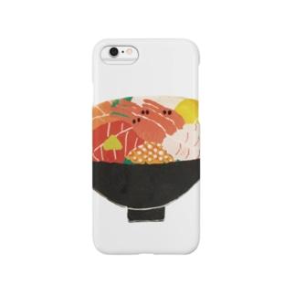 海鮮丼【文字なし】 スマートフォンケース