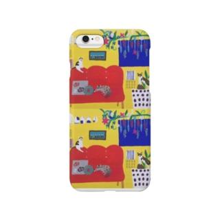 かんばんねこ Smartphone cases