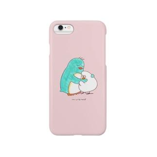 ハグ Smartphone cases