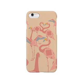 フラミンゴ Smartphone cases
