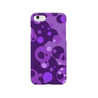 パープル魔人(パープルマジン) Smartphone cases