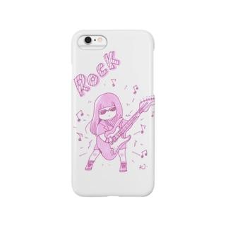 ロック女子 Smartphone cases