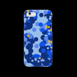ダンビズストアの慰めブルー(ナグサメブルー) スマートフォンケース