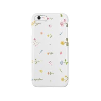 KKUKA 花 スマートフォンケース Smartphone cases