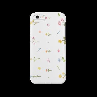 onniのKKUKA 花 スマートフォンケース Smartphone cases