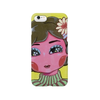 昭和の人形 Smartphone cases