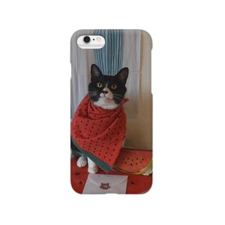 スイカスカ Smartphone cases