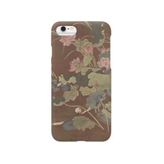 『蓮花水禽図』(顧徳謙) Smartphone cases