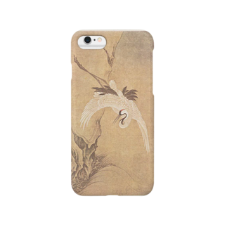 永文堂の『赤壁横江――相国寺鳴鶴図』(文正) Smartphone cases