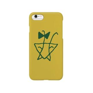 カマキチロゴ Smartphone cases