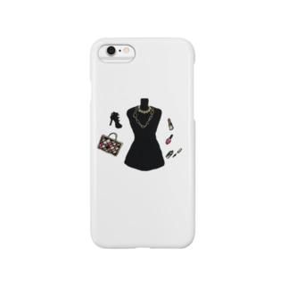 マネキンモチーフiPhoneケース Smartphone cases