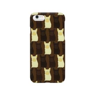 チョコレートなフレンチブルドッグ Smartphone cases