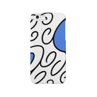 ぐるぐる模様 Smartphone cases