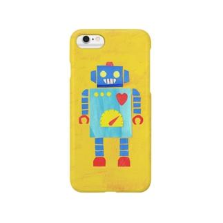 娯楽ロボ Smartphone cases