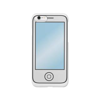 スマホのスマホケース(白) スマートフォンケース