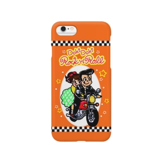 ドキドキロックンロール(オレンジ) Smartphone cases